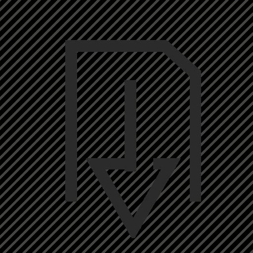 archive, download, downloadfile, file icon