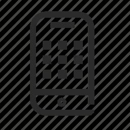 numbers, phone, smartphone icon