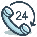 call, customer, help, phone, service, support icon