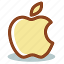 apple, logo icon