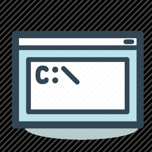 command, console, line, prompt icon