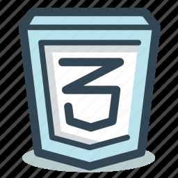 code, css, css3 icon