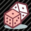 casino, dice, gambling, gamble, luck