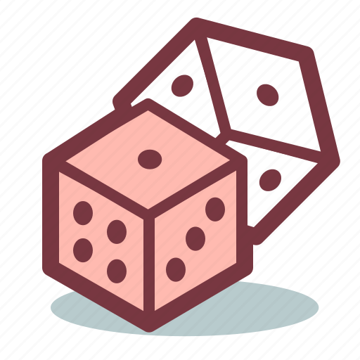 casino, dice, gamble, gambling, luck icon