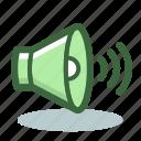 audio, loudspeaker, sound, volume