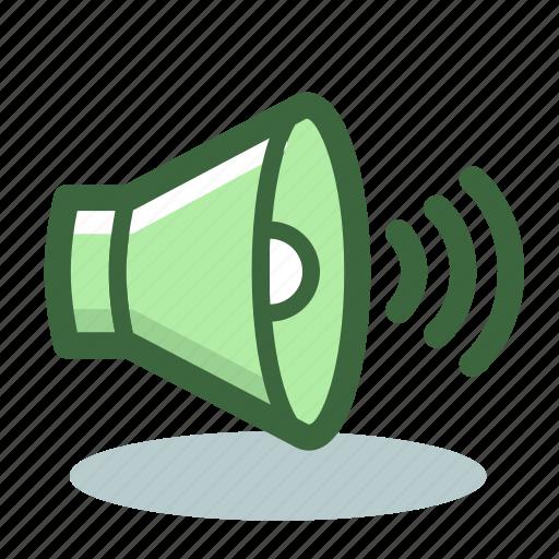 audio, loudspeaker, sound, volume icon