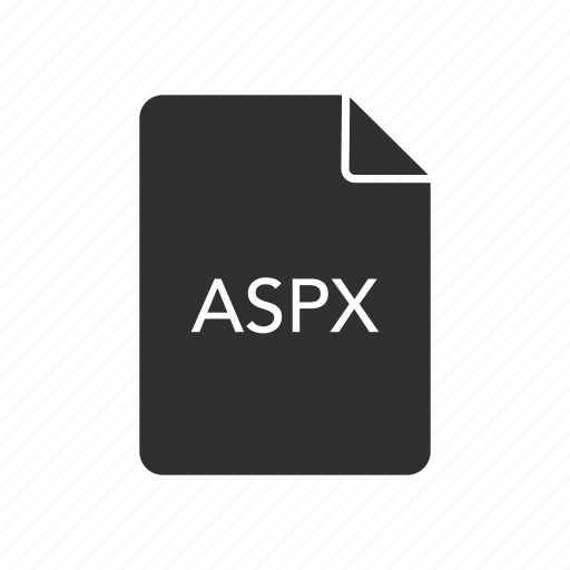 active server pages extended, aspx, aspx document, internet icon