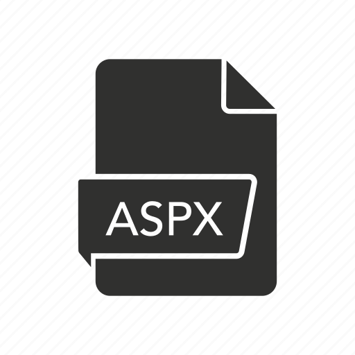 active server pages extended, aspx, file, internet icon