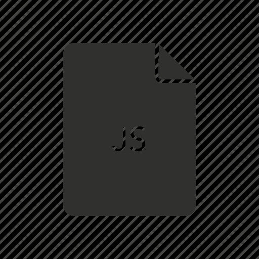internet, javascript, javascript file, js icon