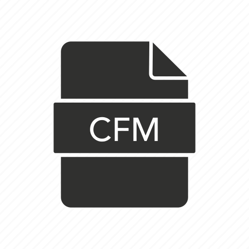 cfm, coldfusion markup language, server, website icon
