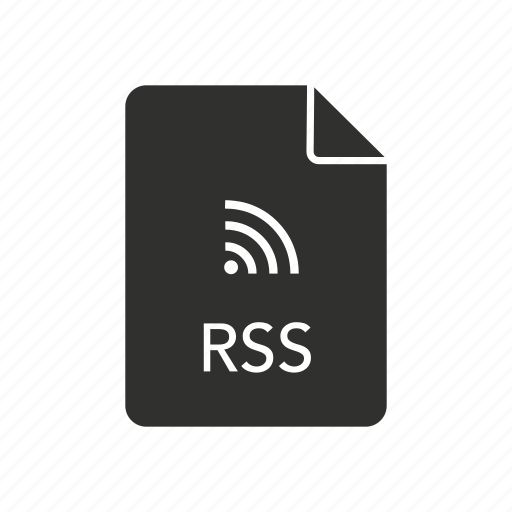 rich site summary, rss, rss document, wifi icon