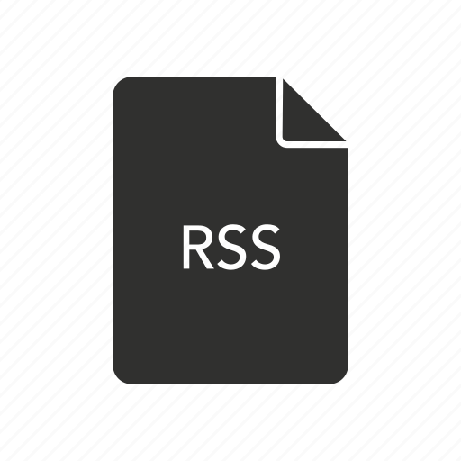 code, rich site summary, rss icon