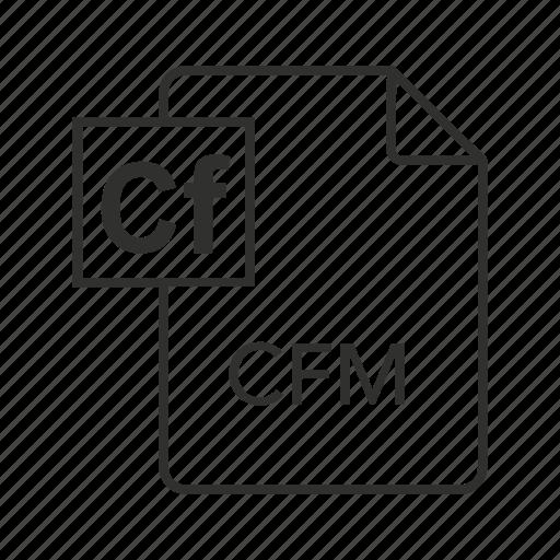 .cfm, cfm document, cfm file, cfm file icon, cfm icon, coldfusion markup language, coldfusion markup language file icon - Download on Iconfinder