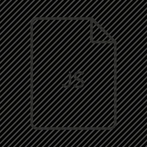 javascript, javascript file, js document, js file, js file icon, js icon icon