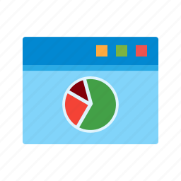 internet, online, search, stats, web, webpage, website icon