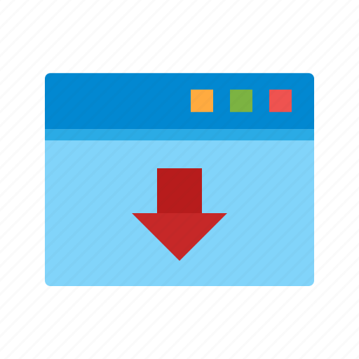 document, download, file, internet, site, web, webpage icon