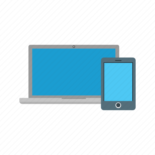 devices, laptop, mobile, screen, smartphone, tablet, web icon