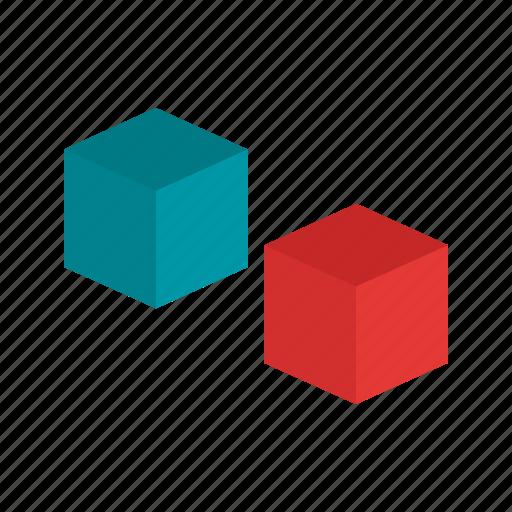 computer, cube, internet, programming, technology, tools, web icon