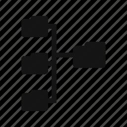 directories, folder, network icon
