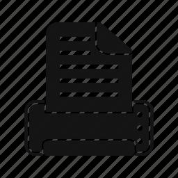 device, print, printer, printing icon