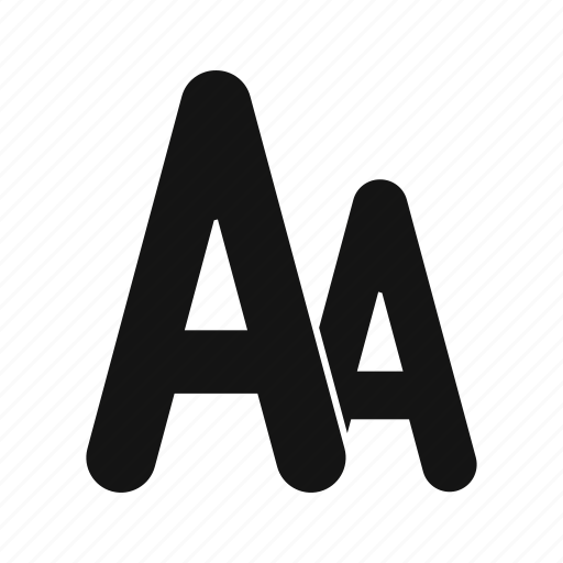 alphabet, document, font, format, style, text icon