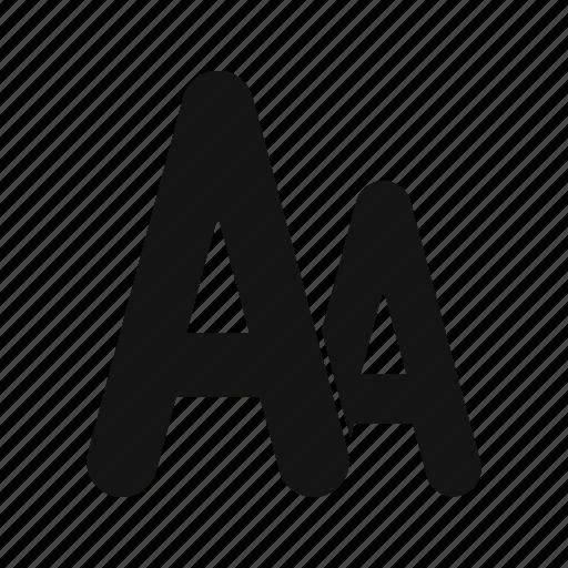 alphabet, font, letter, text icon
