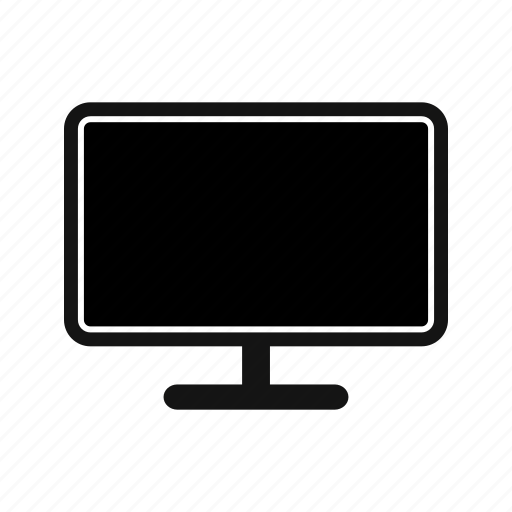 lcd, led, multimedia, screen icon