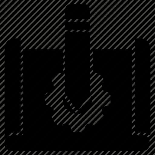 designing, development process, planning, prototyping, workflow icon