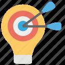aim, bullseye, goal, objective, targeting