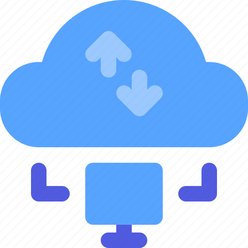Cloud, connection, internet, sync, website icon - Download on Iconfinder