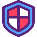 internet, safety, security, shield, virus icon
