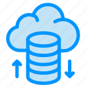 cloud, hosting, network icon