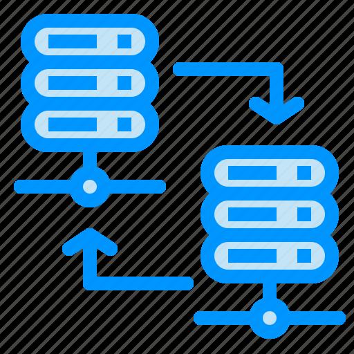 hosting, rack, server, share icon