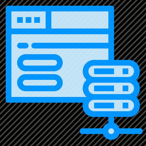 Database, network, server, web icon - Download on Iconfinder