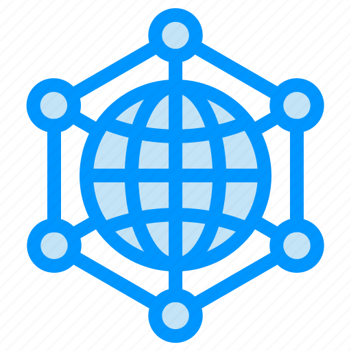 analytics, data, internet, server, web icon