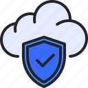checklist, cloud, computing, protection, shield