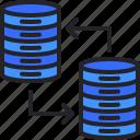 database, hosting, server, share, storage