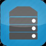 database, hosting, machine, server, system, web hosting icon