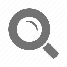 examine, interface, magnifier, search, zoom icon