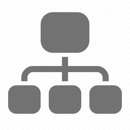 chart, company, diagram, hierarchy, interface, management icon