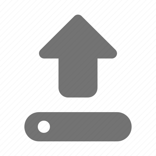 Device, interface, upload, arrow, media icon