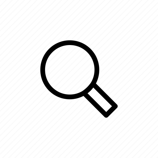 find, glass, internet, magnifier, magnifying, search, zoom icon