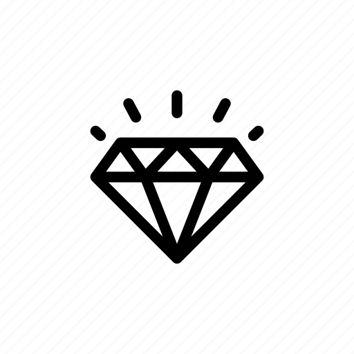 diamond, finance, money, reward, rich, stone, treasure icon