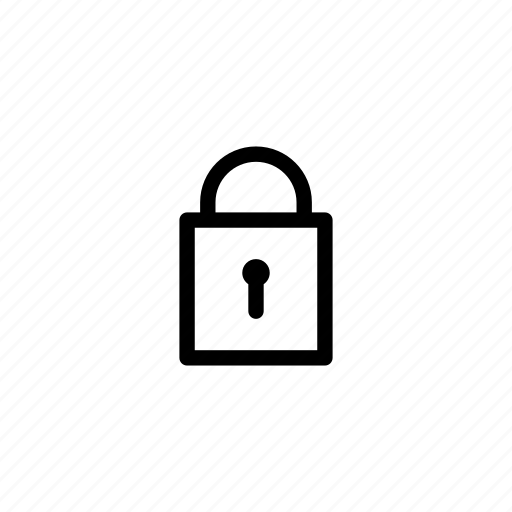 key, lock, locked, login, password, private, secure icon