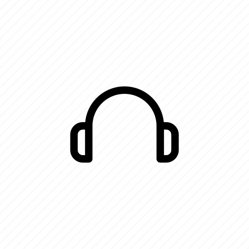 audio, headphone, headphones, headset, multimedia, music, player icon