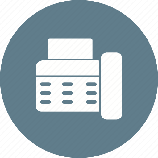 Information, fax, transfer, send, machine, connection, data icon - Download