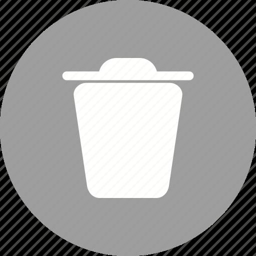 bin, delete, document, empty, file, remove, trash icon