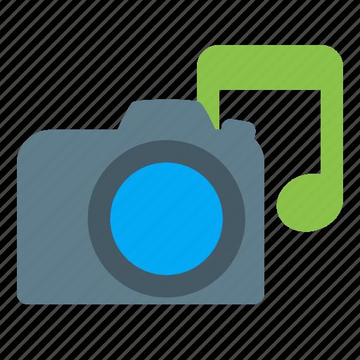 multimedia, music, note, photo icon