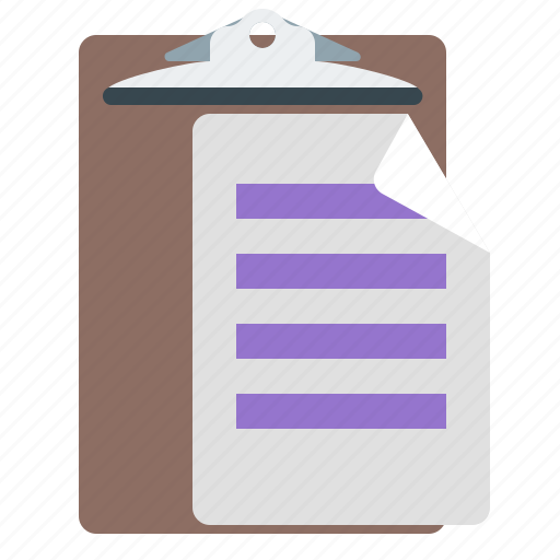 paper, paste, sheet, tablet icon