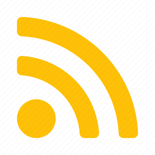 rss, sign, subscription, waves icon